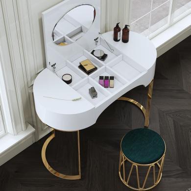慕梵迪 梳妆台 现代轻奢 密度板+不锈钢五金 B0034