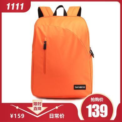 【129元限搶一個】新秀麗Samsonite韓版大容量雙肩包 ALPES系列電腦包664橙色