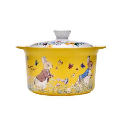 英國比得兔砂鍋燉鍋家用陶瓷煲湯鍋煲湯明火耐高溫石鍋陶瓷鍋燉鍋