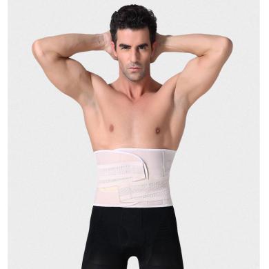 妃孕寶 男士收腹帶新款束腰帶瘦身緊身塑腰燃脂塑身衣腰封運動啤酒肚瘦腰綁帶
