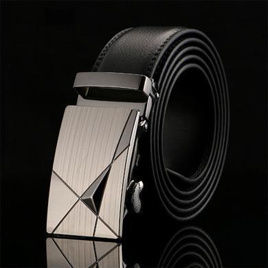 GSQ古思奇 男士皮带自动扣皮带时尚潮流休闲牛皮腰带皮带男PD332