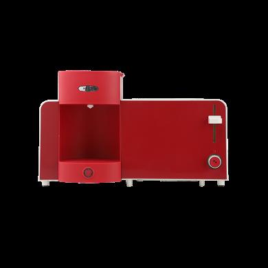 樂扣樂扣(lock&lock) EJB327RED 二合一早餐機(多士爐、咖啡機)