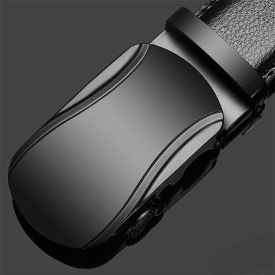 GSQ古思奇 男士皮带自动扣皮带时尚潮流休闲牛皮腰带皮带男PD333