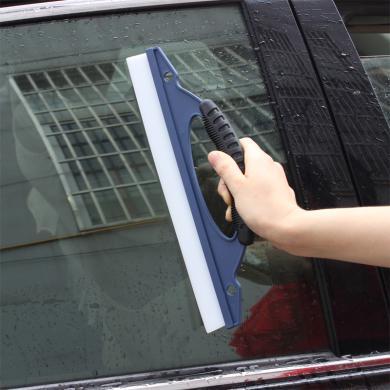 卡飾得  汽車清潔刮水器 玻璃硅膠水刮 一字刮水板