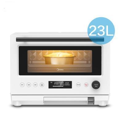 美的(Midea)PG2310微蒸烤一体机电蒸箱电烤箱蒸立方23L变频智能多功能微波炉蒸烤箱