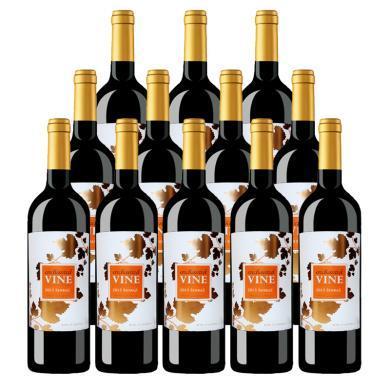 紅酒 澳洲原瓶進口 魔幻葡葉西拉紅葡萄酒 750ml*12瓶 整箱 聚會宴席佳選