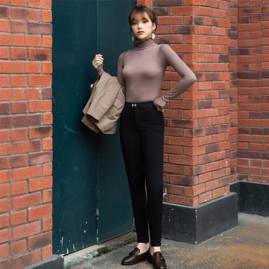 【支持购物卡】韩国let's diet  2019 新款女士秋冬保暖显瘦 【加绒魔术裤】