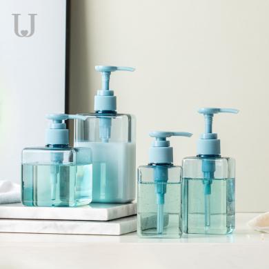 佐敦朱迪乳液瓶 洗發水沐浴露旅行分裝瓶按壓式洗手液瓶化妝空瓶子
