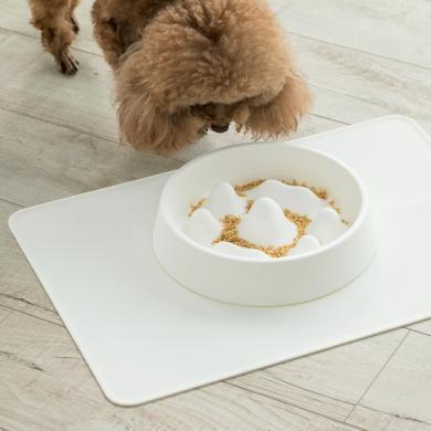 佐敦朱迪寵物餐墊 硅膠防溢出防滑防潮防水貓狗餐墊食品硅膠材質