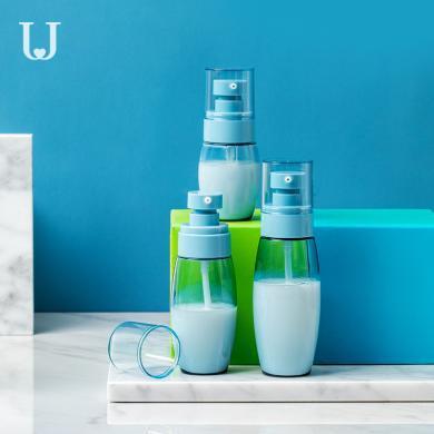 佐敦朱迪旅行分装瓶套装按压式沐浴露洗发水洗手液小瓶子空瓶便携式乳液瓶旅行出差便携