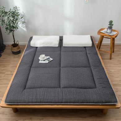 DREAM HOME 四季通用 方格床墊席夢思榻榻米墊子學生宿舍單人床墊床褥軟床墊802007