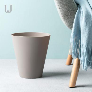 佐敦朱迪簡便垃圾桶   歐式創意家用垃圾桶垃圾簍客廳臥室雜物收納桶