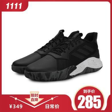 adidas阿迪達斯2019男子RUNTHEGAME場上競技籃球鞋EE9647
