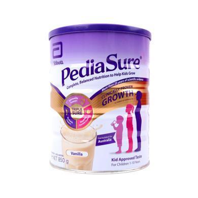 2罐*美國雅培Abbott 進口澳洲版 小安素營養粉香草味 850克/罐