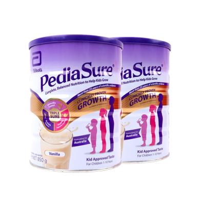 2罐*荷蘭 雅培Abbott (澳洲版) 小安素奶粉 香草味 850g/罐
