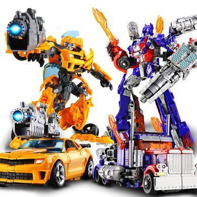 兒童益智玩具合金變形玩具汽車機器人模型變形男孩玩具兒童禮物BG6699-7