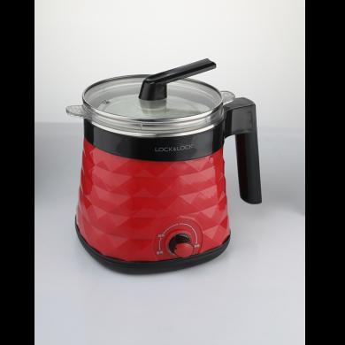 樂扣樂扣(lock&lock)EJC357RED 多功能電煮鍋