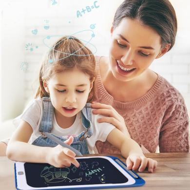 兒童液晶畫板寶寶手寫板光能電子小黑板家用彩色涂鴉板繪畫寫字板