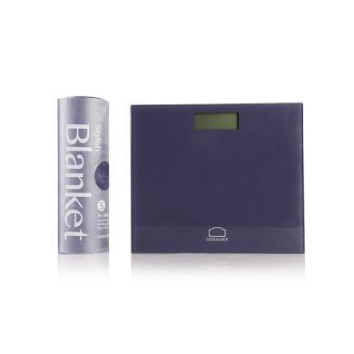 樂扣樂扣(lock&lock) LSC-B71FU 悅藍電子體重秤