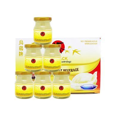 【支持购物卡】泰国 乌鸡牌 Bonback 无糖 滋补 木糖醇 即食燕窝 75ml*6瓶/1盒装
