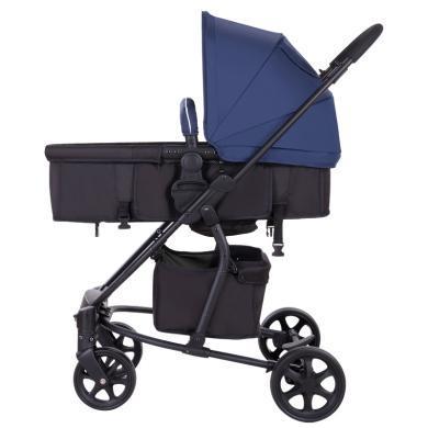 德国Hapair 高景观婴儿车推车双向可推儿童手推车可坐?#21830;?#23453;宝折叠避震推车