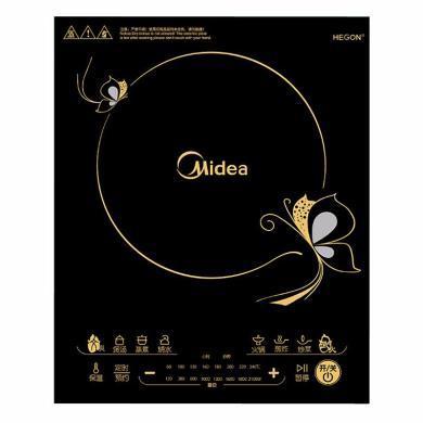 美的(Midea)嵌入式 電磁爐電磁灶單灶家用商用觸摸屏 RT2163(臺嵌兩用)