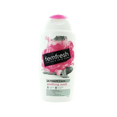 【支持购物卡】英国Femfresh 私密温和无皂女性洗护液 250ml 蔓越莓香味