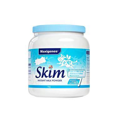 美可卓脫脂奶粉藍胖子澳洲原裝進口奶粉兒童學生成人孕婦女士1kg