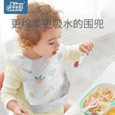 baby一次性圍兜嬰兒吃飯口水巾便攜圍嘴防水飯兜