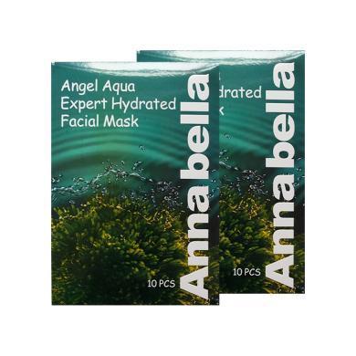 【支持购物卡】【2盒】泰国ANNABELLA安娜贝拉 海藻面膜补水保湿滋养 30ml*10片/盒