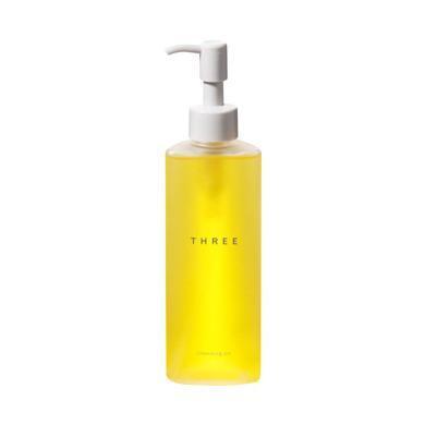 【支持购物卡】日本THREE 赋活润养卸妆油185ml 敏感肌温和清洁