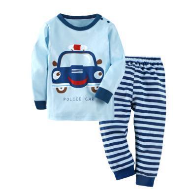 兒童保暖內衣套裝棉睡衣 兒童家居服