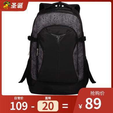 爱华仕双肩包电脑背包大容量旅行包女潮旅游运动中学生书包男包