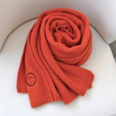 BET.圍巾女秋冬加厚保暖長款針織圍脖學生百搭韓版復古圍巾披肩W201919