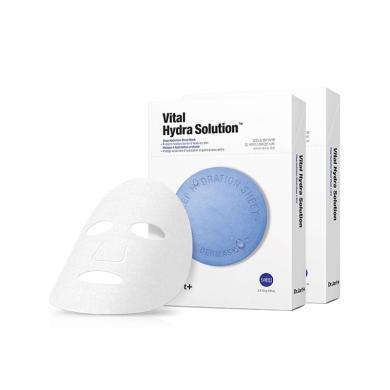 【支持購物卡】【2盒】韓國Dr.Jart+蒂佳婷 藍色藥丸補水面膜 5片/盒