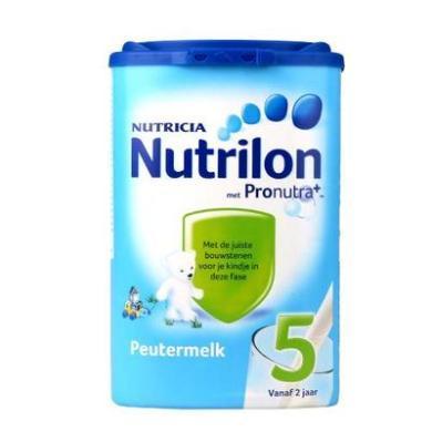 【2罐】(保税区)荷兰Nutrilon牛栏奶粉5段(24-36个月宝宝) 800g/罐(?#34892;?#26399;至2020年8月)