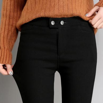 搭歌 2019新款打底褲女裝秋季小腳褲韓版緊身彈力顯瘦鉛筆長褲 B0026