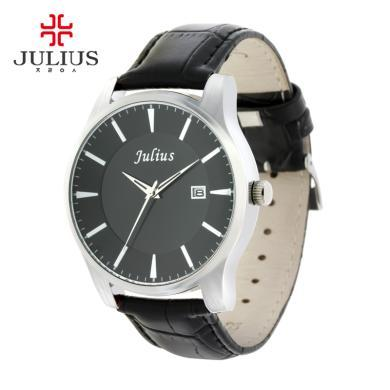聚利時情人節禮物正品時尚情侶對表男女手表皮帶女士手表JA-455L