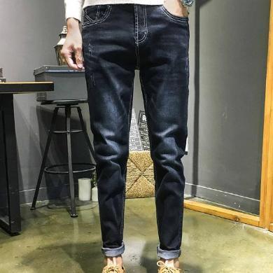 富贵鸟男装2019秋冬新款牛仔裤休闲百搭款牛仔裤TP808
