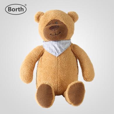 泊斯爾小號呆呆熊注水熱水袋雙插手暖水袋小熊玩偶