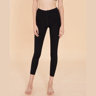 Ubras舒適無痕系列-打底褲-One Size-黑色-均碼 可外穿九分褲