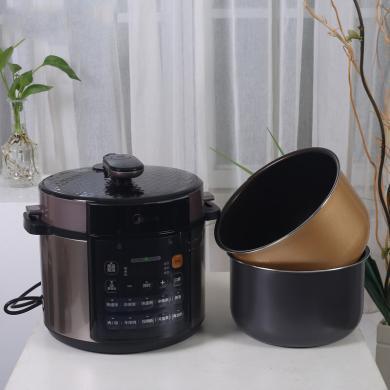 美的(Midea)雙膽電壓力鍋MY-RY50Q3-FS 多功能5L大容量