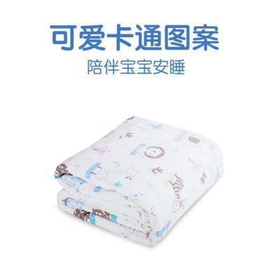 艾茵美嬰兒被子春秋純棉四季通用幼兒園寶寶小床薄被兒童空調房夏涼蓋被