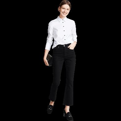 tobebery白衬衫女设计感小众2020春装新款休闲上衣职业正装衬衣