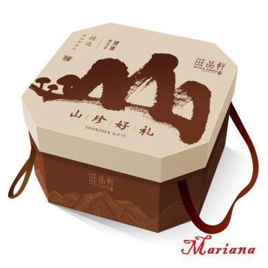 【年货礼盒】旺品轩--山珍好礼礼盒1930g 逢年过节 山珍礼包 体面大气