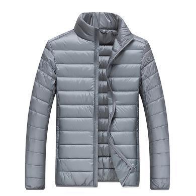 【領券立減10元】富貴鳥冬季新款羽絨服五色可選高立領輕薄保暖易攜帶男外套短款羽絨服男F16050