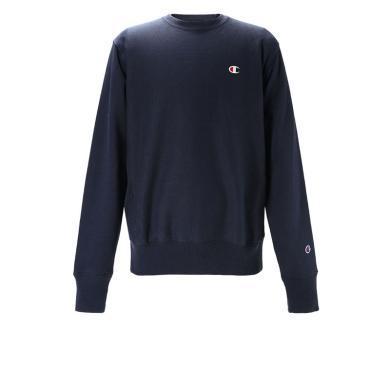 [支持購物卡] CHAMPION/冠軍 男裝小C logo刺繡長袖衛衣 GF70