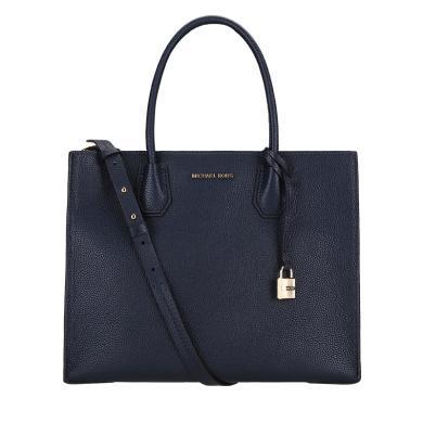 [支持購物卡]MK/邁克高仕 女包 MERCER鎖頭百搭經典女款包包手提單肩斜挎包 手拎單肩托特包 大號