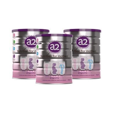 【支持購物卡】3罐*澳洲a2白金版孕婦奶粉備孕孕期哺乳期補充DHA葉酸900g*3罐澳洲直郵