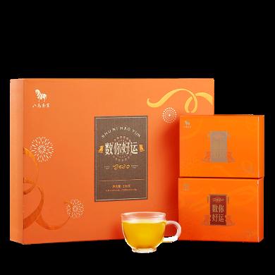 八馬茶業 閩北烏龍大紅袍 工夫紅茶組合 鼠年生肖茶禮 禮盒裝256g  I0387